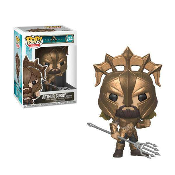 Funko Pop - Arthur Curry - Filme Aquaman - DC Comics
