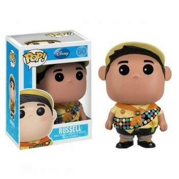 Funko Pop - Russel - Animação Up Altas Aventuras - Disney