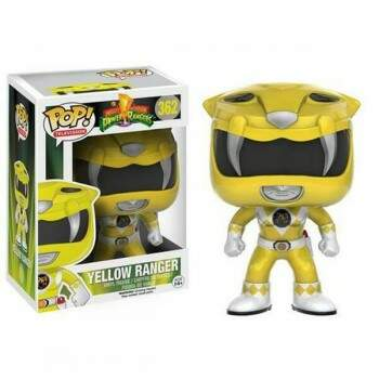 Funko Pop - Power Ranger Amarelo - Power Rangers