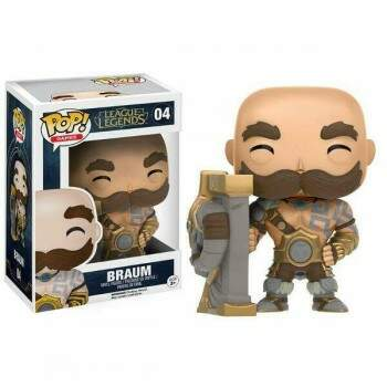 Funko Pop - Braum - Game League of Legends