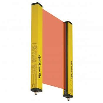 Cortina de Luz Light Screen Plex (LSP) - LSP14-400 - Linha Safety