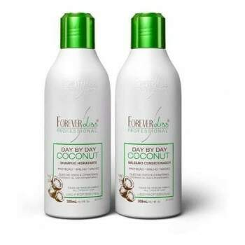 Shampoo e Bálsamo Day By Day Coconut Forever Liss - 2x300ml