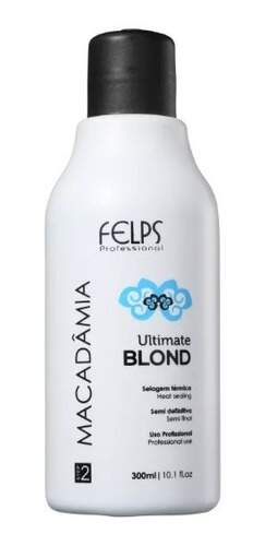 Felps Macadâmia Ultimate Blonde - Selagem Térmica 300ml
