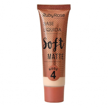 Base Líquida Soft Matte - Ruby Rose