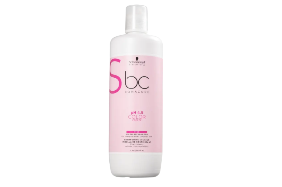 Shampoo Bc pH 4.5 Color Freeze Micellar Rich 1000ML - Schwarzkopf