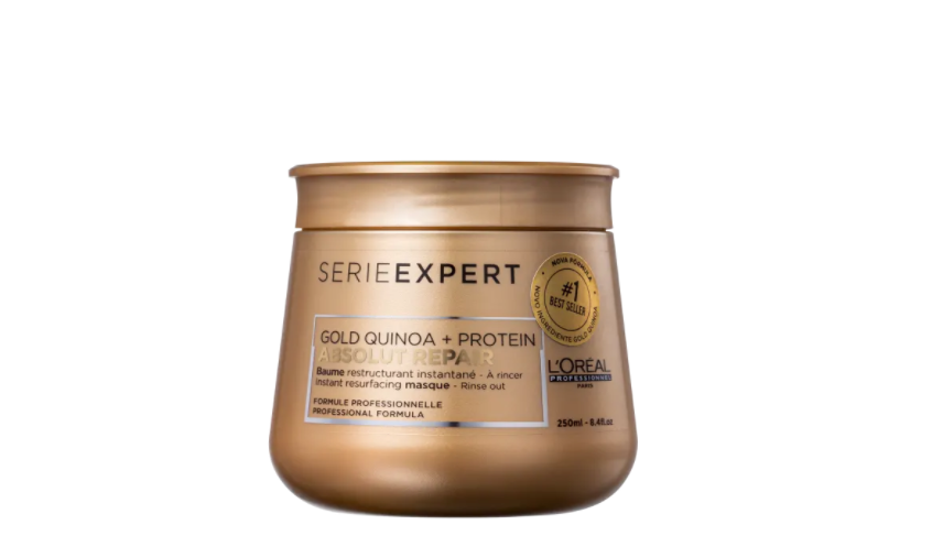 Máscara Serie Expert Absolut Repair Gold Quinoa + Protein 250ML - Loréal Professionnel
