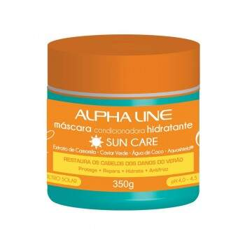 Máscara Capilar Sun Care 350ML - Alpha Line