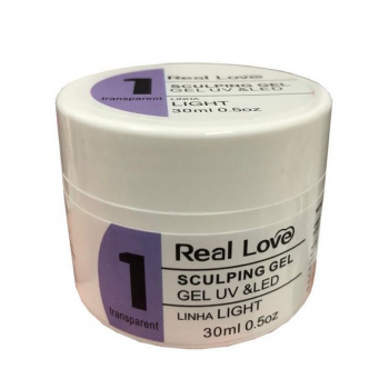 Sculping Gel Light Gel Uv & Led 30ml - Real Love