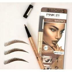 PINK 21 PERFECT BROWS 3EM1 4,8g