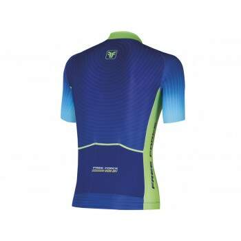 Camisa Ciclismo Free Force Road Day Azul Masculina
