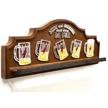 Porta Celular Decorativo c/ Carregador USB Karin Grace Beer Full
