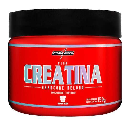 Creatina Reload Hardcore 150g - IntegralMédica