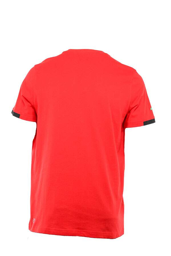 Camiseta Ferrari Big Shield Tee Vermelha