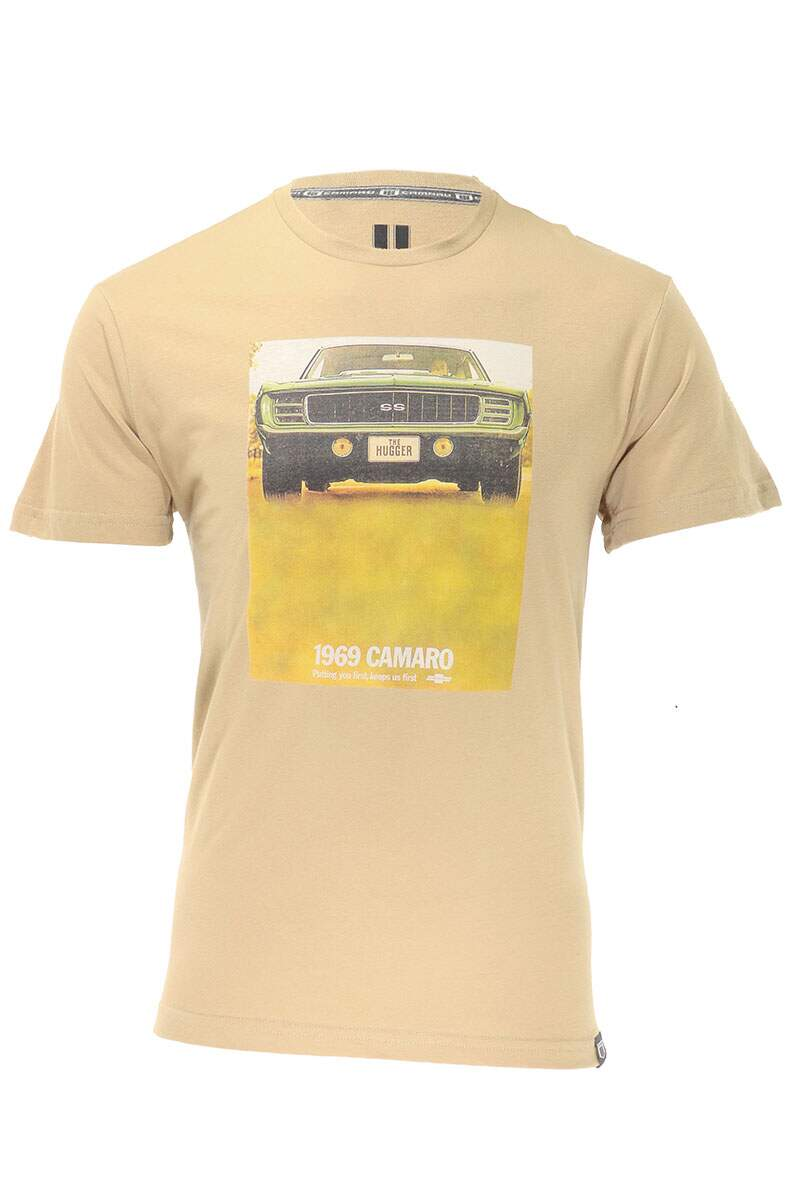 Camiseta Camaro 1969 Off White