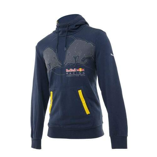 Moletom Red Bull Racing Graphic Hoodie Azul Marinho