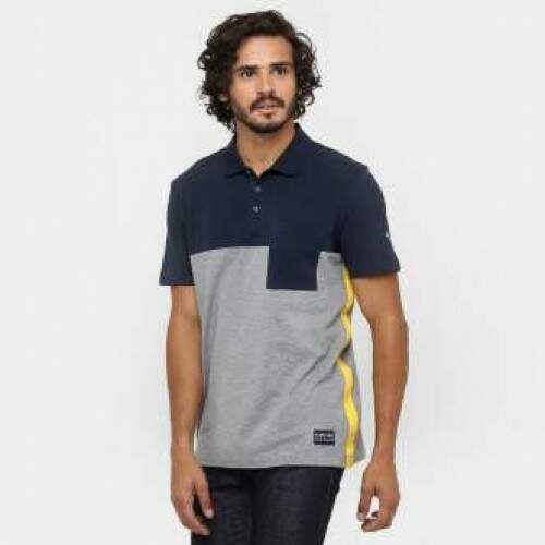 Camisa Polo Red Bull Racing Marinho