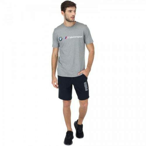 Camiseta Bmw Mms Logo Tee Gray Heather Cinza