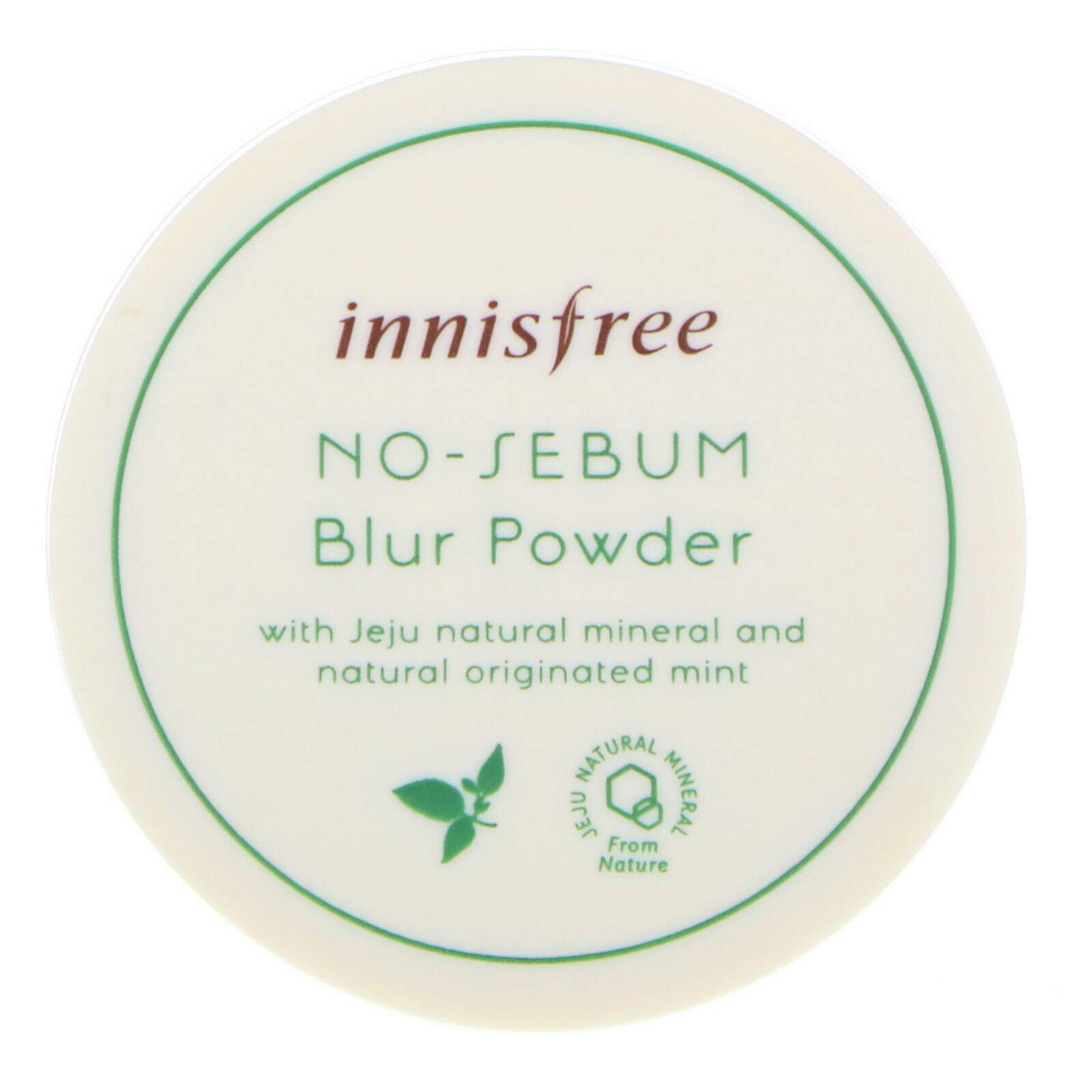 PÓ FACIAL NO SEBUM BLUR MINERAL POWDER INNISFREE 5g