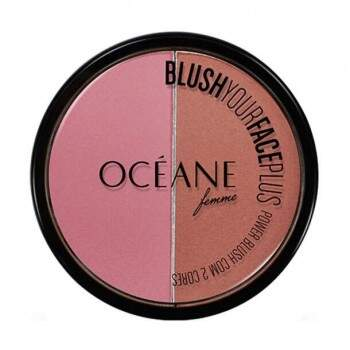 Blush Your Face Plus Océane - Duo de Blush Pink e Clay 9,3g