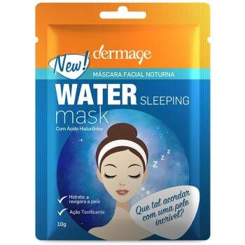 Máscara Facial Noturna Water Sleeping Mask DERMAGE