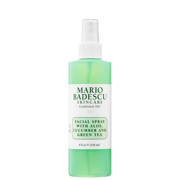 SPRAY FACIAL  WITH ALOE, CUCUMBER AND GREEN TEA  118ml MARIO BADESCU