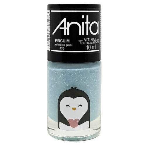 ESMALTE Cremoso Poá My Wish Pets Pinguim ANITA - 10ML