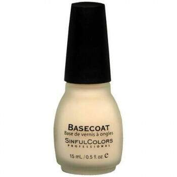 Basecoat SinfulColors Professional - 15ml