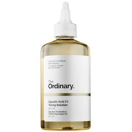 Glycolic Acid 7% Toning Solution 240ML - The Ordinary