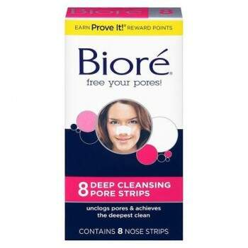 Biore The Original Deep Cleansing Nose Strips - 8ct