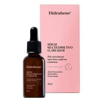 Sérum Multicorretivo Clareador Hidrabene 30ml