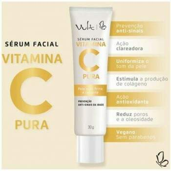 Vitamina C Pura Sérum Anti-Idade 30g VULT