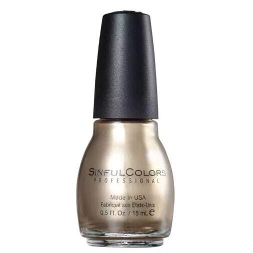 Esmalte Cremoso SinfulColors Professional Gold Medal 15ml