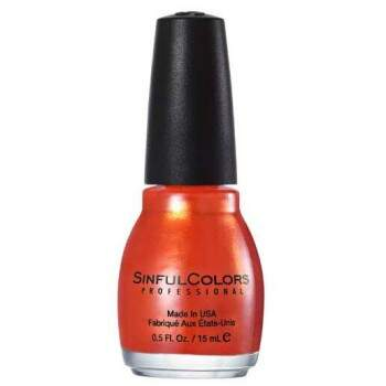 Esmalte Cremoso SinfulColors Professional Courtney Orange 15ml