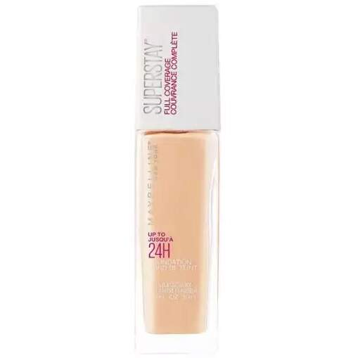 Base MAYBELLINE SUPERSTAY FULL COVERAGE FOUNDATION 120 CLASSIC IVORY - 30ML