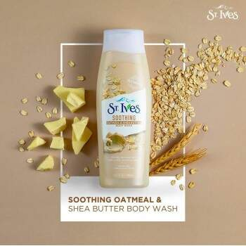Sabonete Líquido Soothing Oatmeal & Shea Butter Hand & Body Wash 709ml ST. IVES