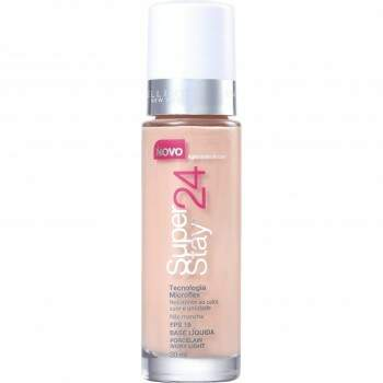Base Superstay 24h Porcelain Ivory Light SPF19 Maybelline 30ml