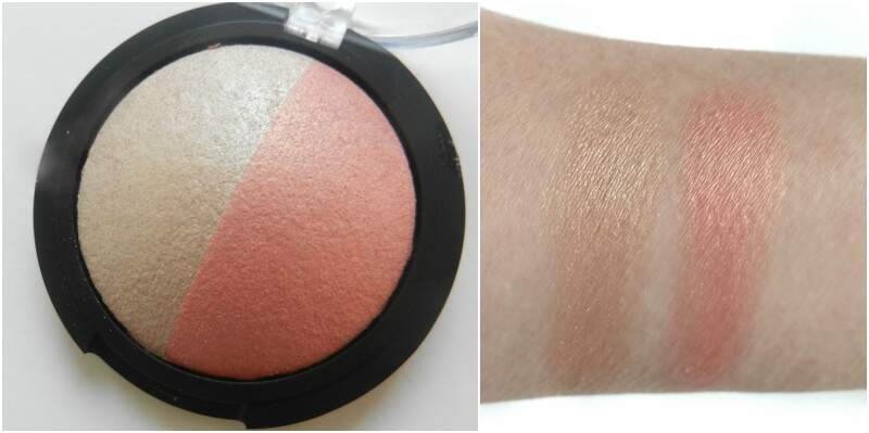 Baked Highlighter and Blush Duo Rose Gold ELFCosmetics - 5.2g