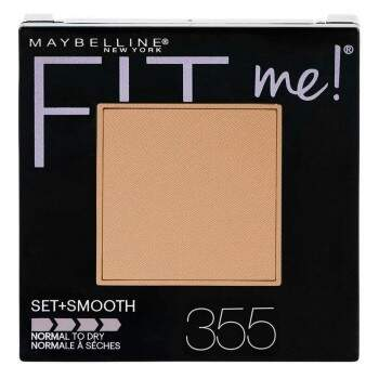Pó Fit Me Set + Smooth Cocconut 355 Maybelline - 9g