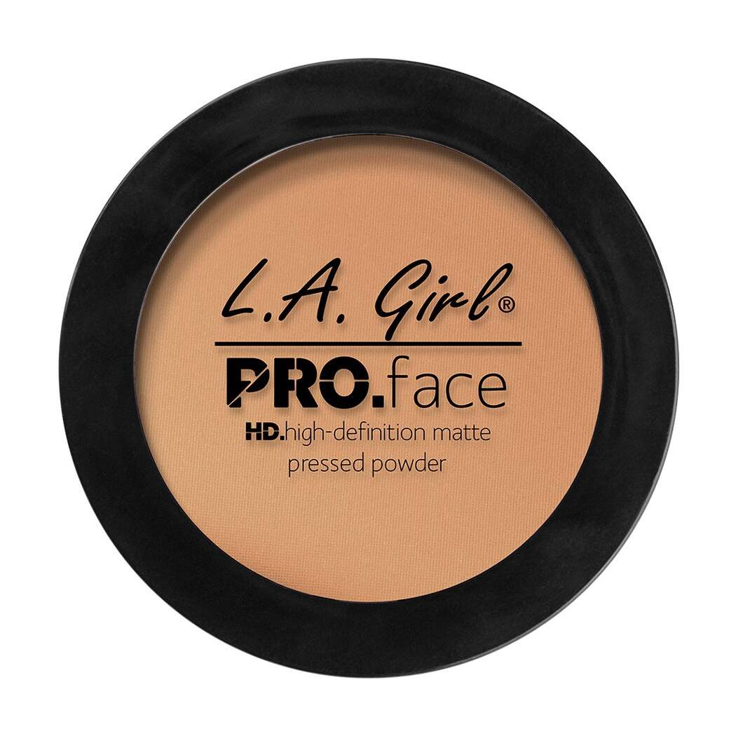 Pó Warm Honey GPP607 LA Girl HD Pro Face Matte Pressed Powder - 7g