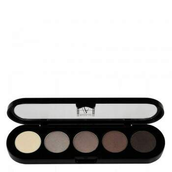 Paleta de Sombras T24 - Palette 5 Cores - Make Up Atelier Paris