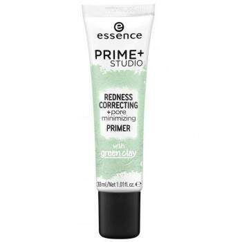 Prime - Studio Redness Correcting - Pore Minimizing Primer Essence Cosmetics 30ml