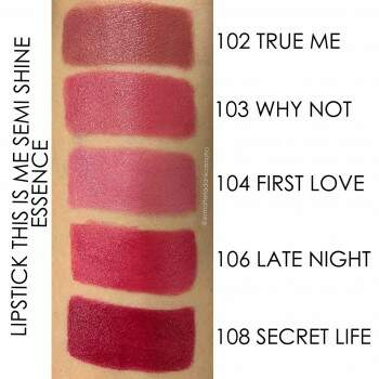 Batom Semi Shine 104 First Love - This Is Me Essence 3,5g