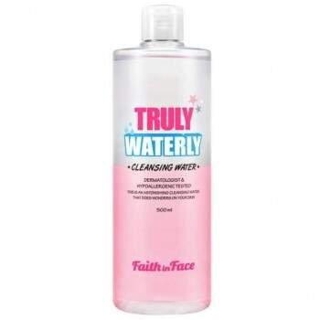 Cleasing Water Faith In Face Truly Waterly 500ml - Água de limpeza