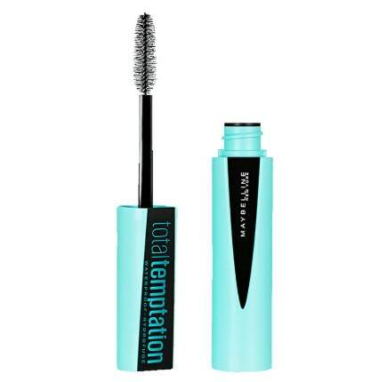 Máscara de Cílios Maybelline Total Temptation Waterproof Black
