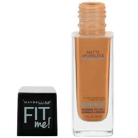 BASE Maybelline Fit Me 330 Toffee Matte + Poreless Liquid Foundation