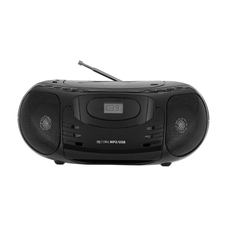 RADIO CD/MP3/USB PB119N PRETO PHILCO - UN