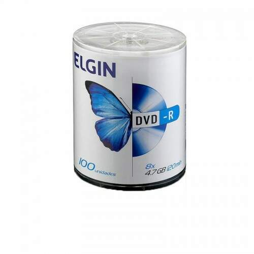 DVD-R 4.7GB  8X/16X 120MIN.ELGIN - %