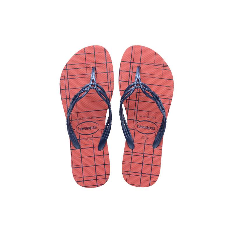 SANDALIA HAVAIANA FLASH SWEET RETRO CORAL 39/0 - PR