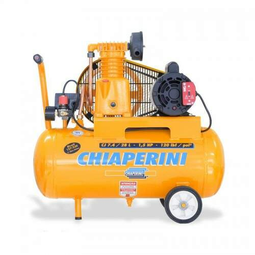 COMPRESSOR AR 1,5HP7,4/28L120LB CHIAP - UN
