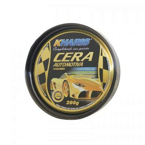 CERA AUTOMOTIVA PASTA 200G KHARIS - UN
